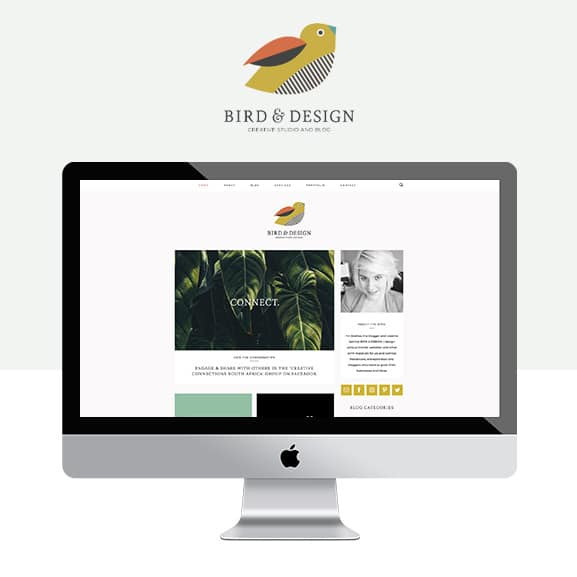 Bird-and-design